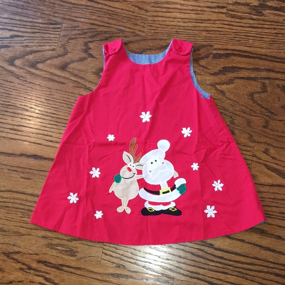 aaa561acaf83 Rosalina Dresses | Reversible Euc Red Christmas Dress 3t | Poshmark